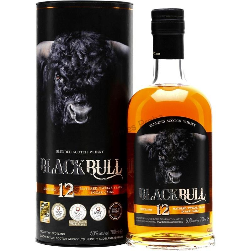Black Bull 12 yo blended whisky 0,7