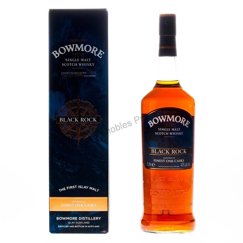 Whisky Bowmore Black Rock 1litr