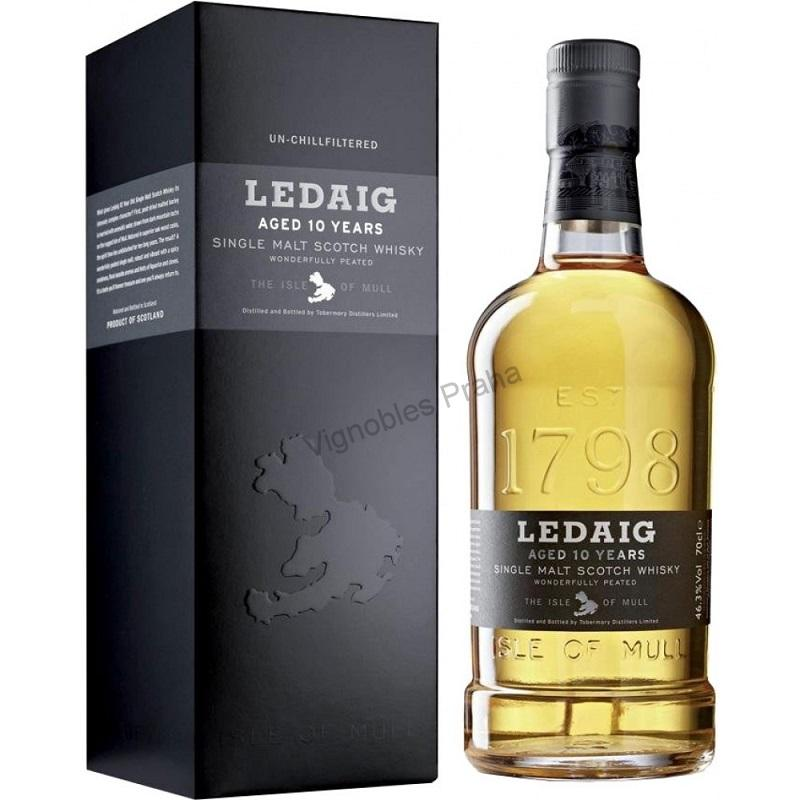 Whisky Ledaig 10 Year Old Single Malt 0,7