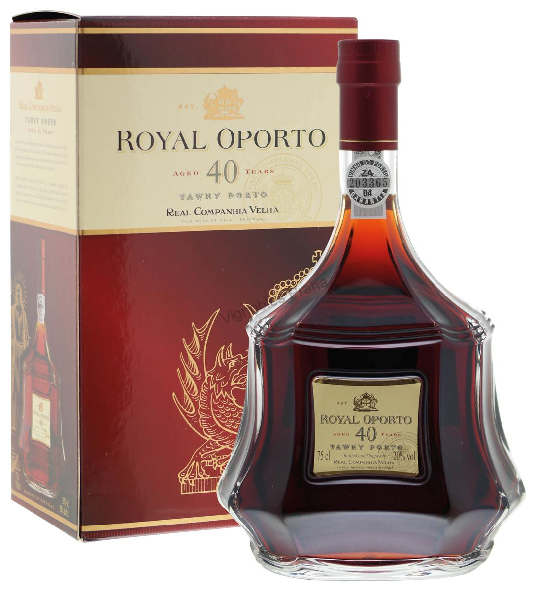 Royal Oporto 40 yo Tawny box 0,75