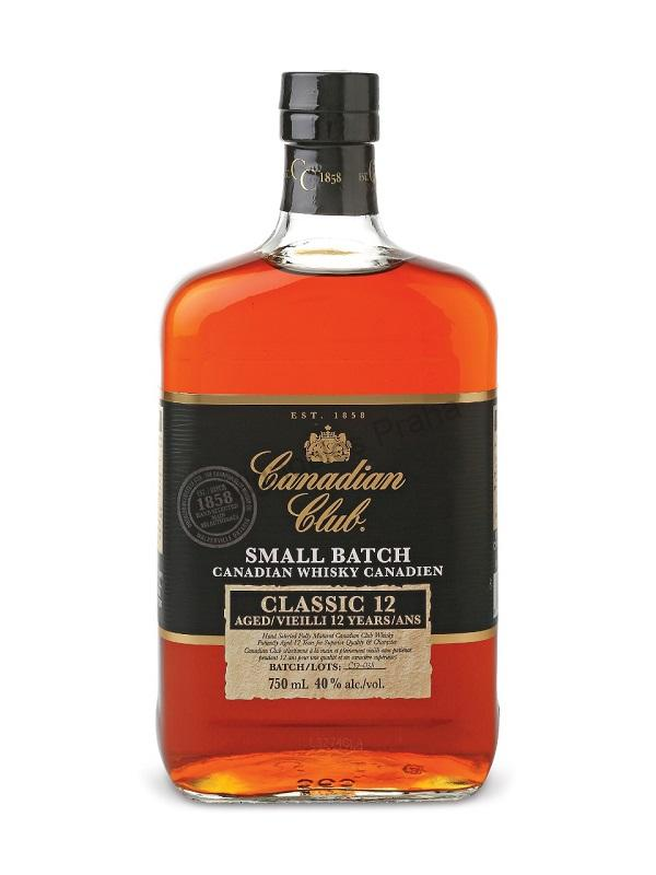 Canadian Club Classic 12 yo Small Batch whisky 0,7