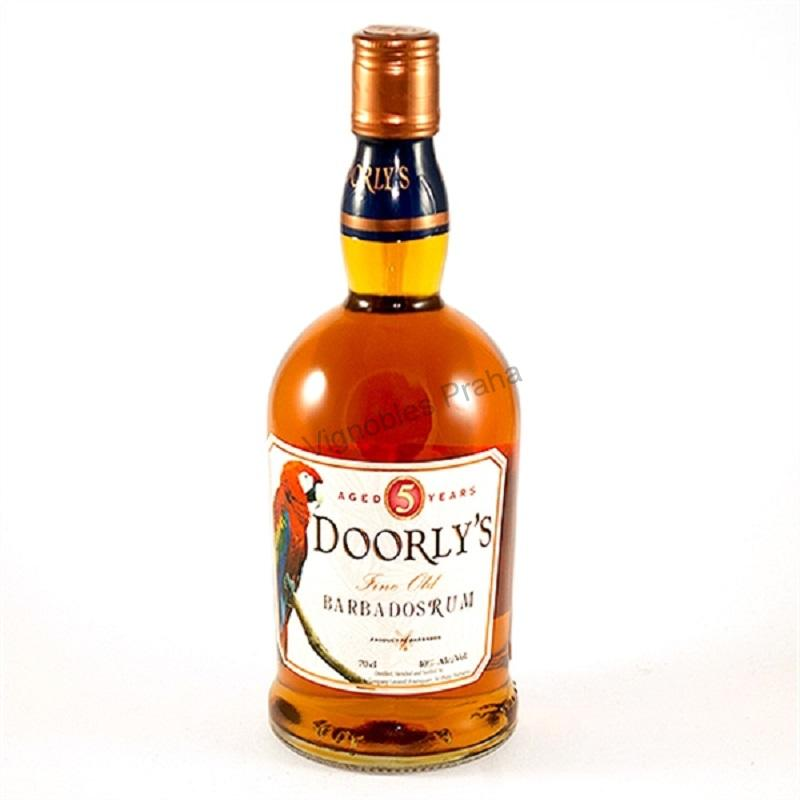 Doorly's 5 yo gold rum 0,7