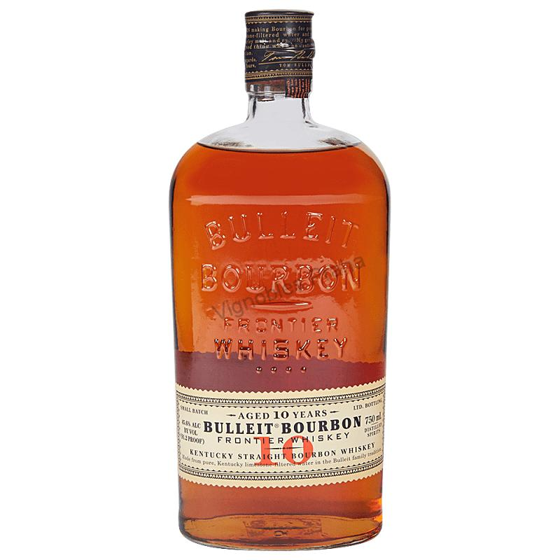 Bulleit 10 Year Old Bourbon Frontier whisky 0,7