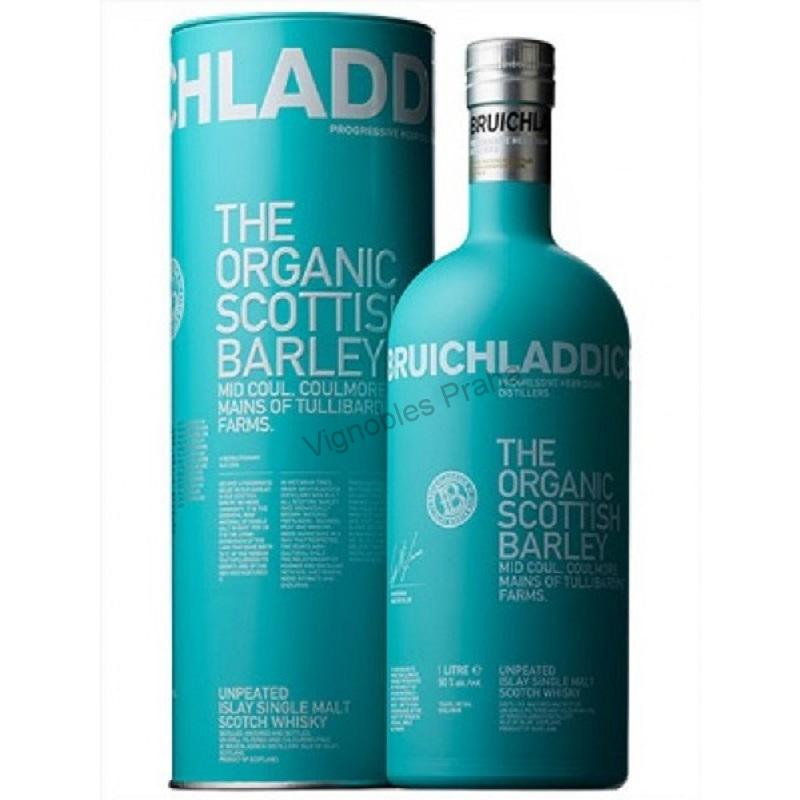 Whisky Bruichladdich Organic Scottish Barley whisky 1l