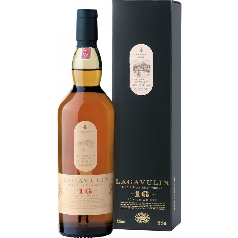 Lagavulin 16 Years Old Single Malt Whisky 0,7