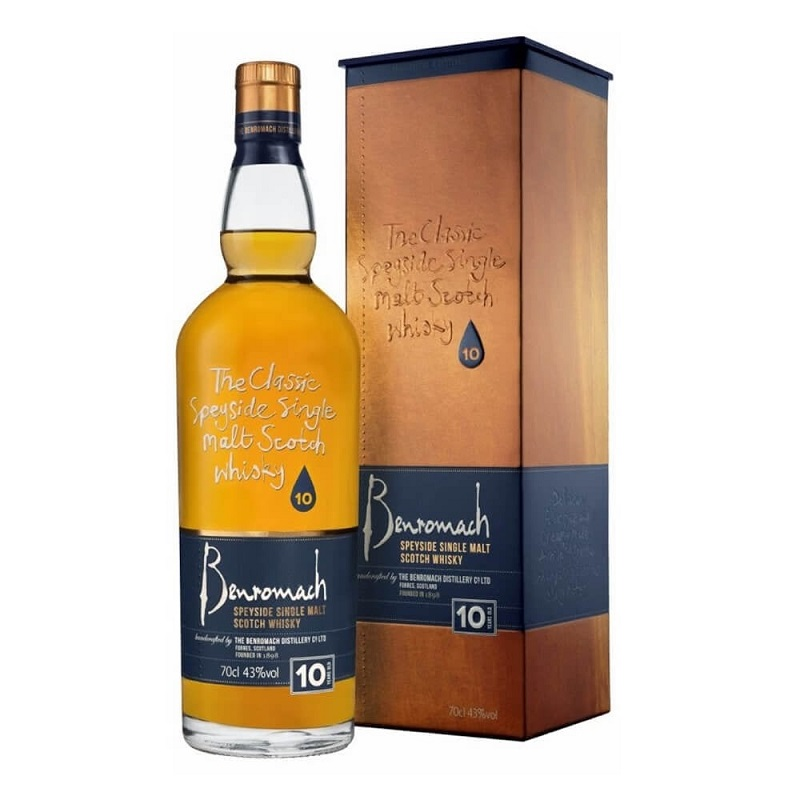Benromach 10 Year Old Scotch Whisky 0,7