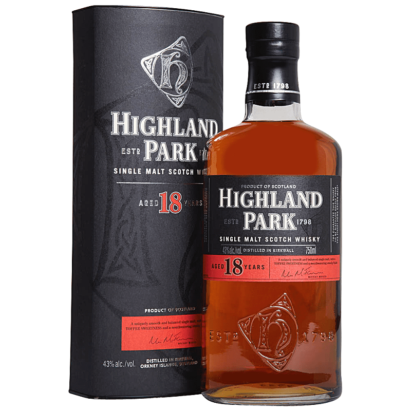 Highland Park 18 yo whisky 0,7