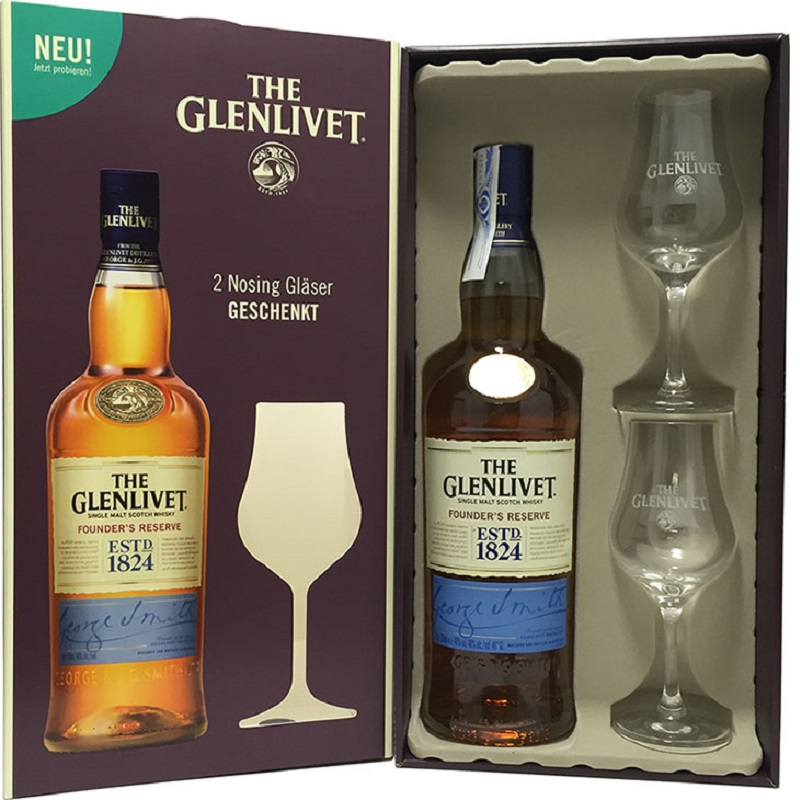 Glenlivet 15 yo French Oak whisky 0,7
