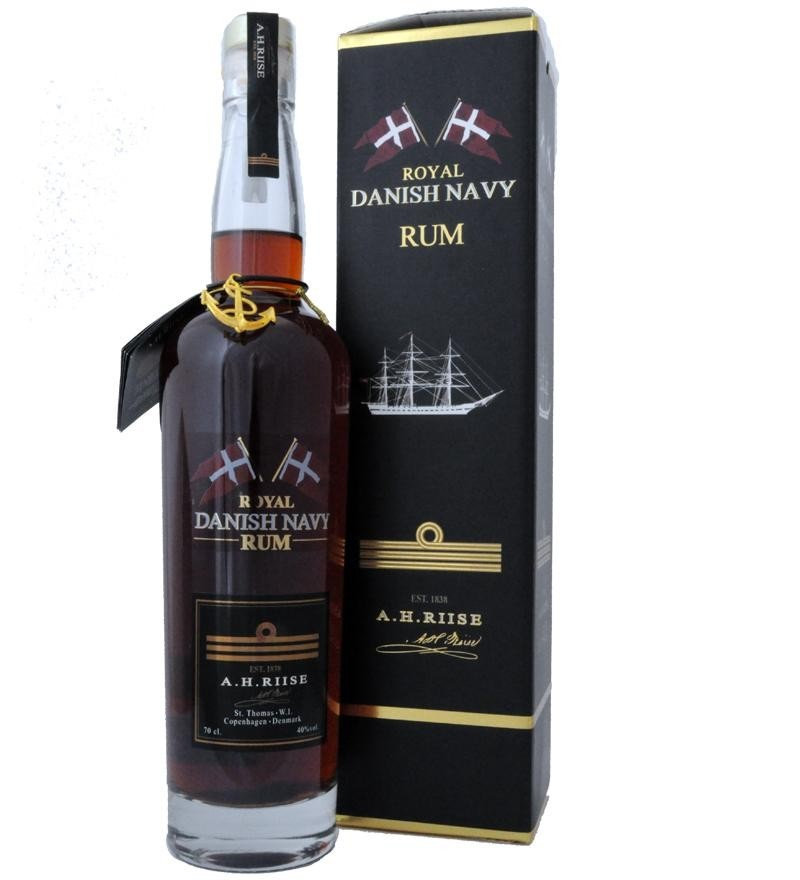 A.H. Riise Danish Navy rum 0,7