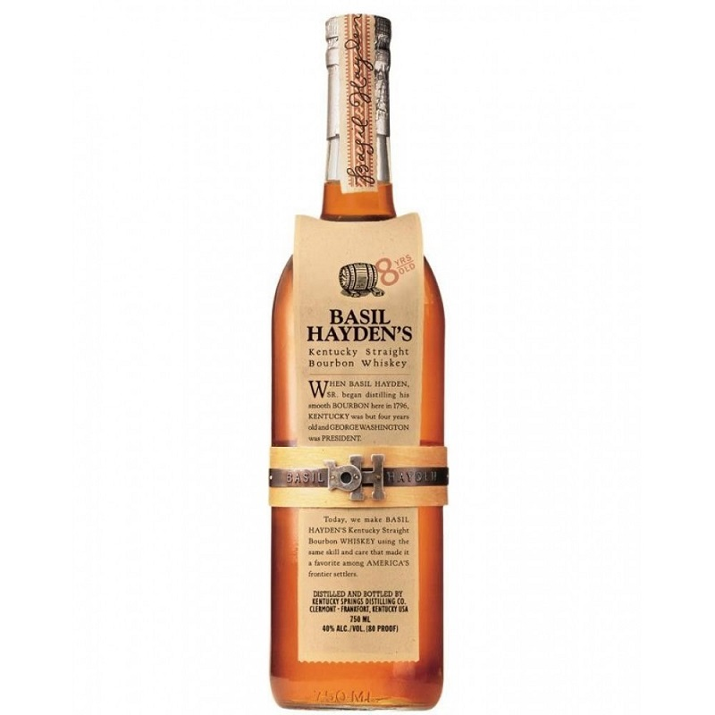 Basil Hayden's Kentucky Straight Bourbon whiskey 1l