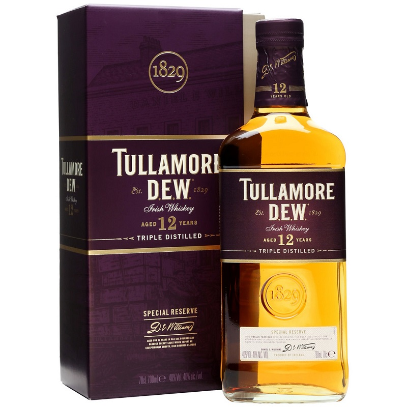 Tullamore Dew 12 yo Special Reserve Irish whiskey 0,7