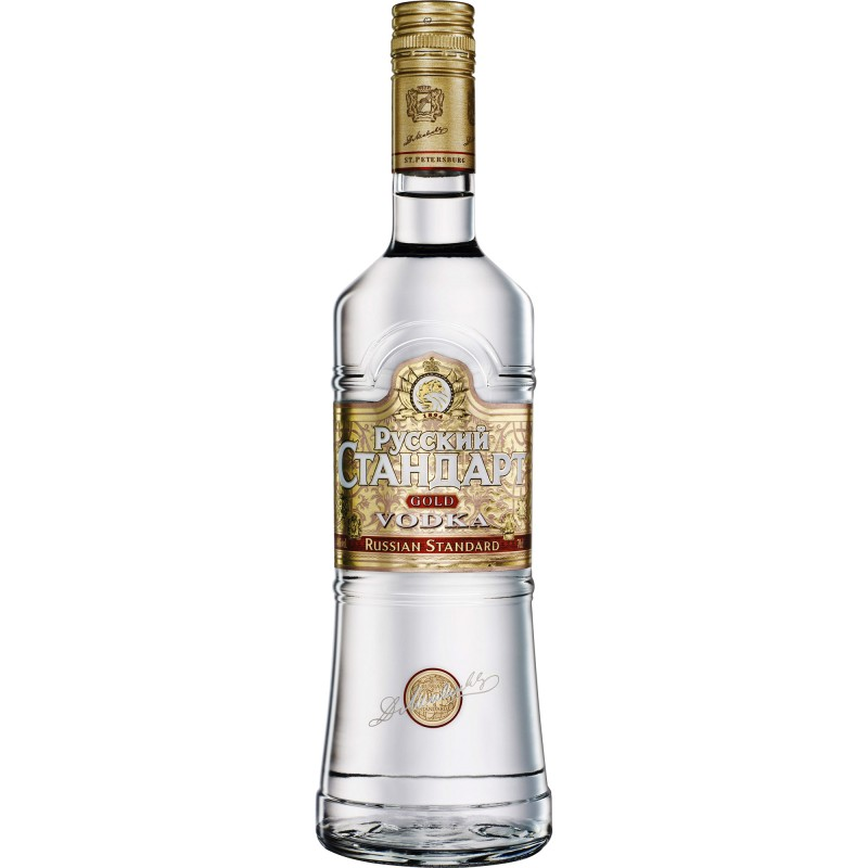 Russian Standard Gold vodka 1 litr