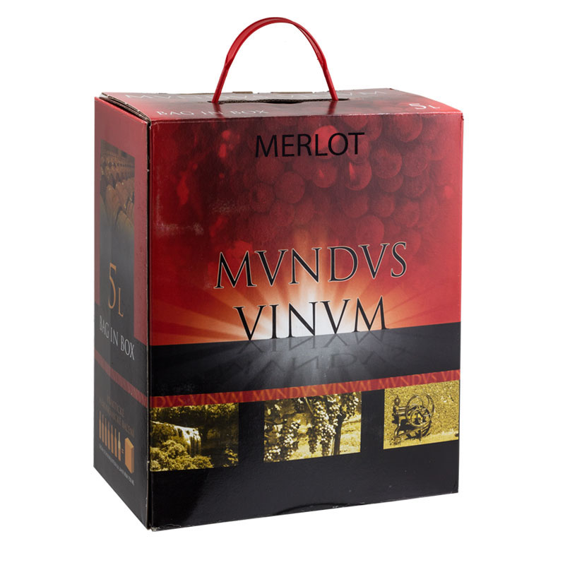 Víno box Merlot Chile 5L
