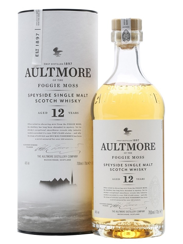 Aultmore 12 yo Speyside Single Malt whisky